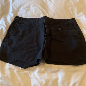 Banana Republic S12 Black Shorts